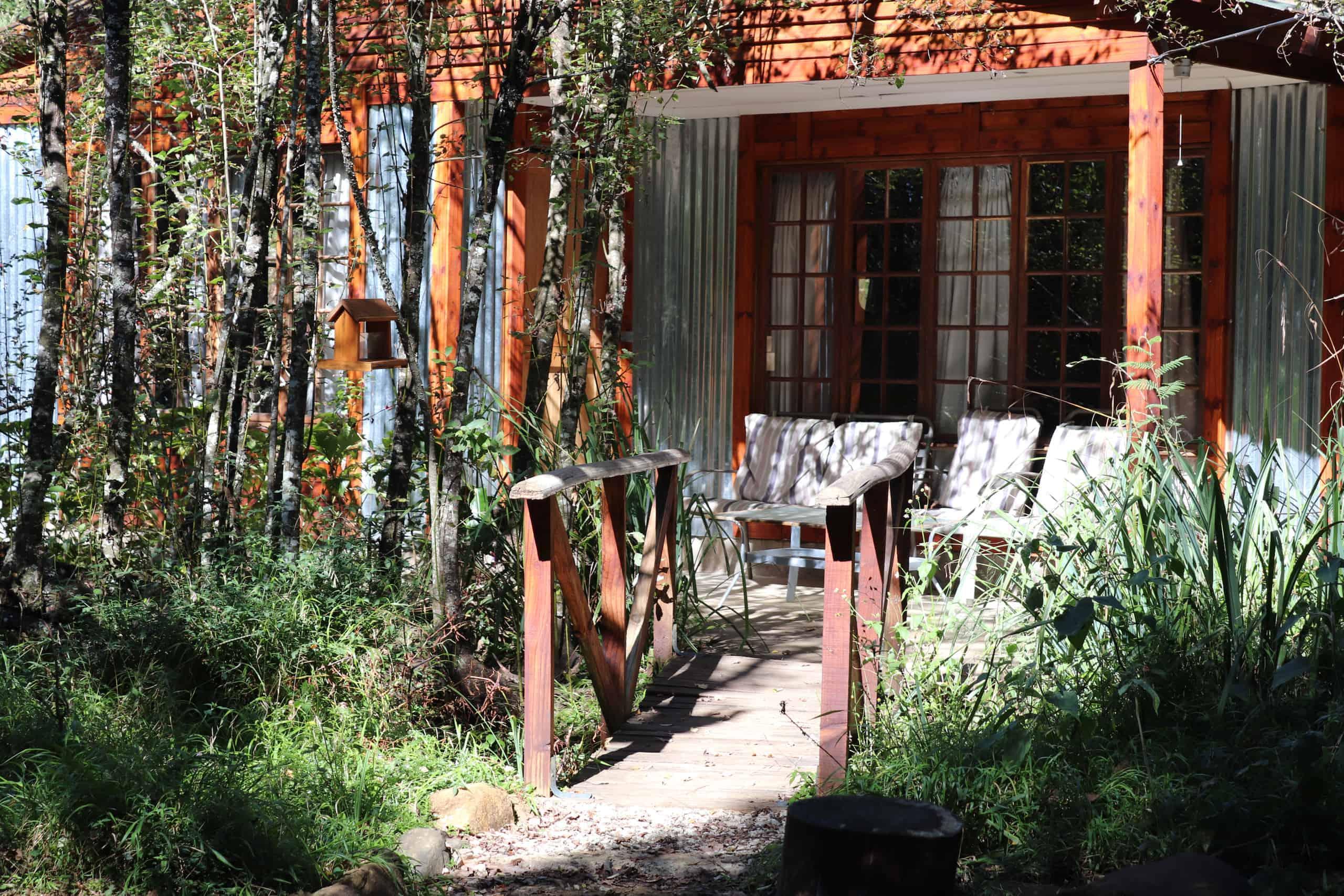 Cabin accommodation in Midlands Meander kwazulu natal