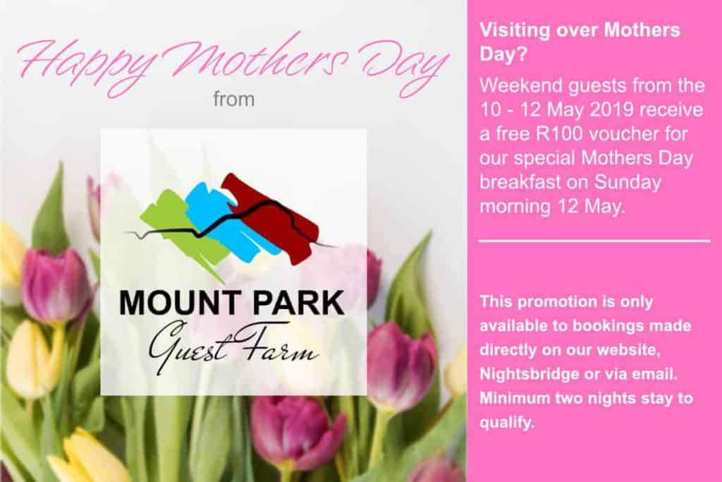 • Mothers Day 2019 at Mount Park Guest Farm • Mount Park Guest Farm